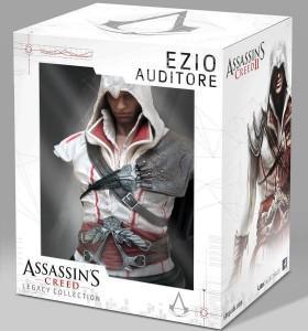 Assassin's Creed II. Бюст Ezio Auditore Da Firenze Legacy Collection