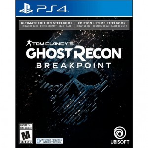 Tom Clancy's Ghost Recon Breakpoint - Steelbook Ultimate Edition [PS4]