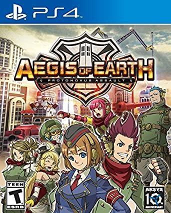 Aegis of Earth: Protonovus assault [PS4]