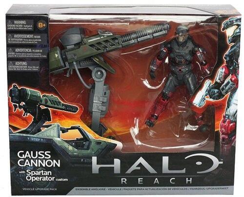 Halo reach Gauss Cannon with Spartan Operator