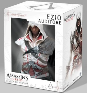 Assassin's Creed II. Бюст Ezio Auditore Da Firenze Legacy Collection