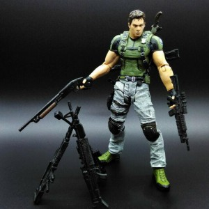 Resident Evil 5. Chris Redfield figure (17см)