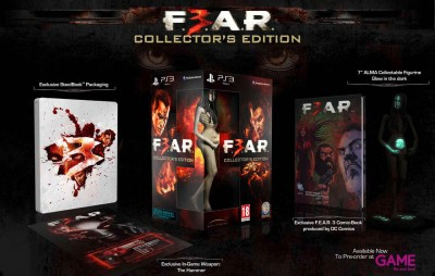F.E.A.R 3 Alma Figurine collectors edition ps3